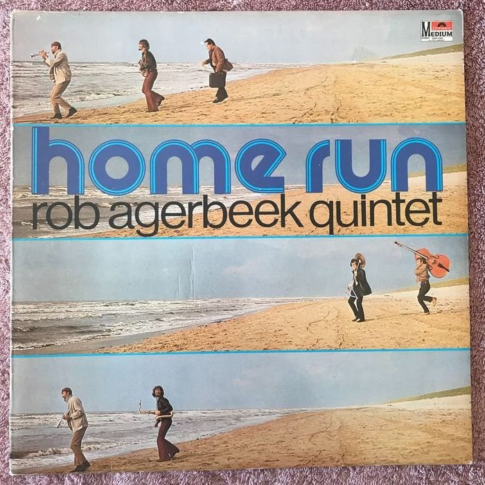 Rob Agerbeek Quintet - Home Run - LP Album - 1972/1972