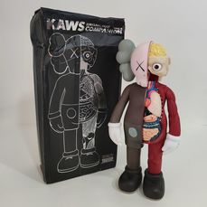 Medicom Toy - Version Brown - OriginalFake Companion '06 Kaws - Chine