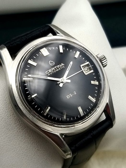 "Certina - DS Turtleback - Caliber 25-651 - ""NO RESERVE PRICE"" - Men - 1970-1979"