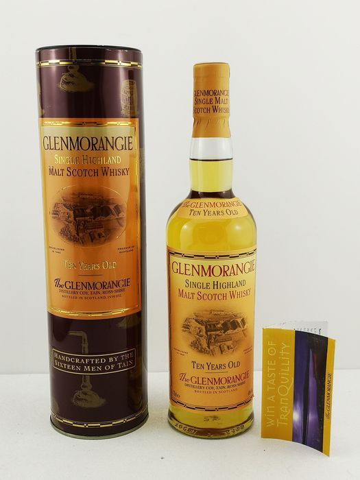 Glenmorangie Handcrafted From The Sixteen Men Of Tain - Original bottling - 70cl
