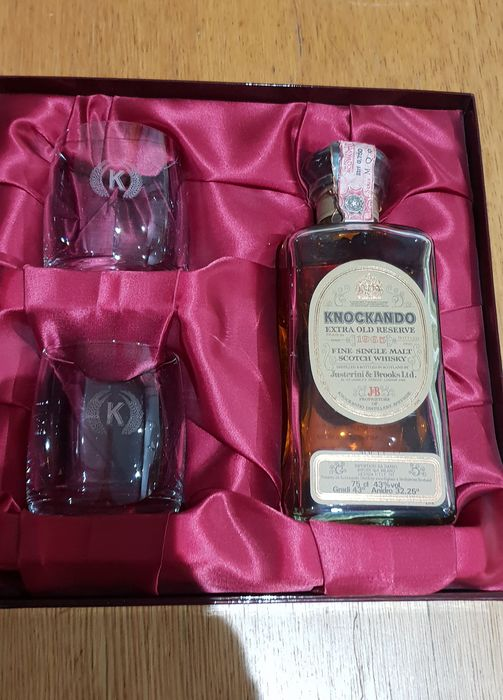Knockando 1965 25 years old Extra old reserve - Original bottling - b. 1990 - 75cl