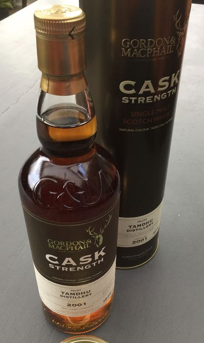 Tamdhu 2001 Cask Strength - Gordon & MacPhail - b. 2011 - 70cl