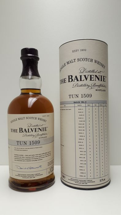 Balvenie Tun 1509 batch no 4 - Original bottling - 700ml
