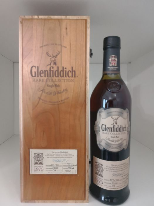 Glenfiddich 1975 34 years old Rare Collection - Cask 22000 - One of 520 - Original bottling - 750ml