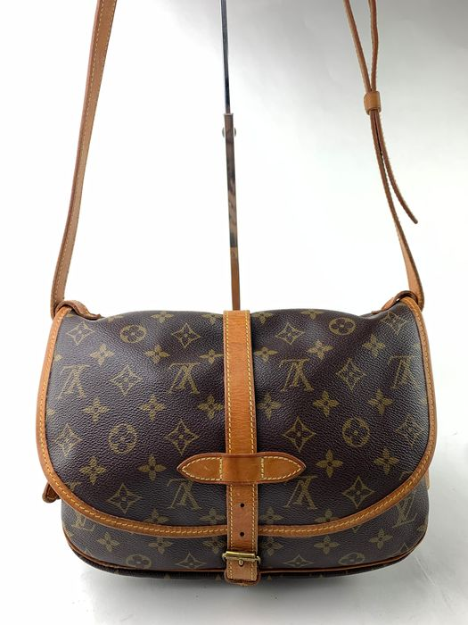 Louis Vuitton - Monogram Saumur30 MM Bolso de bandolera