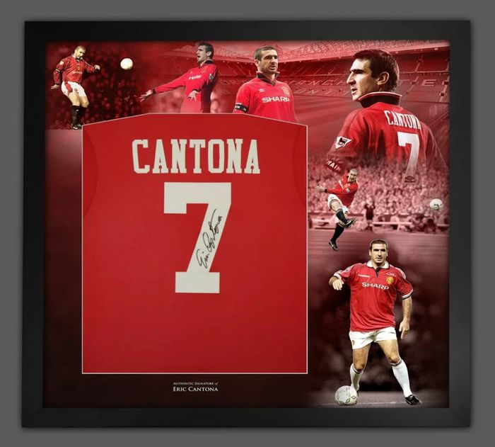 Manchester United - Europese voetbal competitie - Eric Cantona - 1999 - Jersey(s)