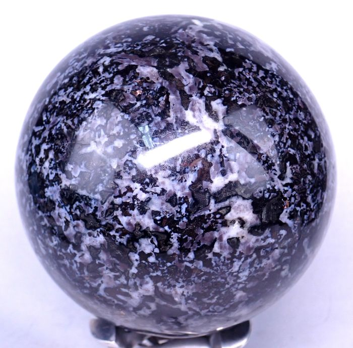 Beautiful Merlinite Sphere - 130×130×130 mm - 3166 g