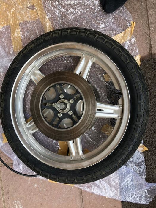 Parti - CBX front & rear wheels and tires - Honda - 1970-1980