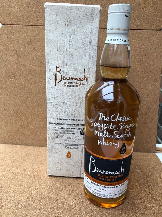 Benromach 2008 Piping at Forres 2018 - Original bottling - 70cl