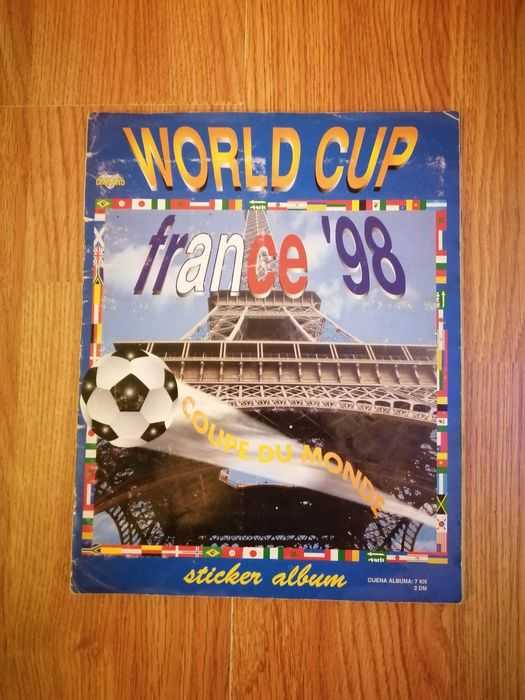 Variant Panini - World Cup France 98 - Compleet album - 1998