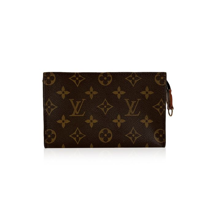 Louis Vuitton - Vintage Monogram Canvas Toiletry Pouch 17 Cosmetic Bag Makeup bag