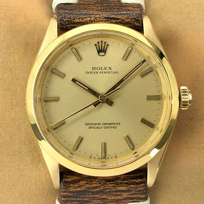 Rolex - Oyster Perpetual Sigma Dial 18k - 6567 - Unisex - 1956