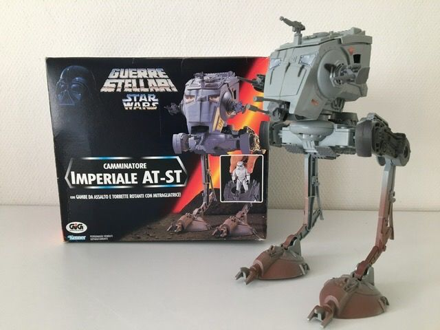 Star Wars - The Power of the Force - Tonka - Veicolo AT-ST Scout Walker