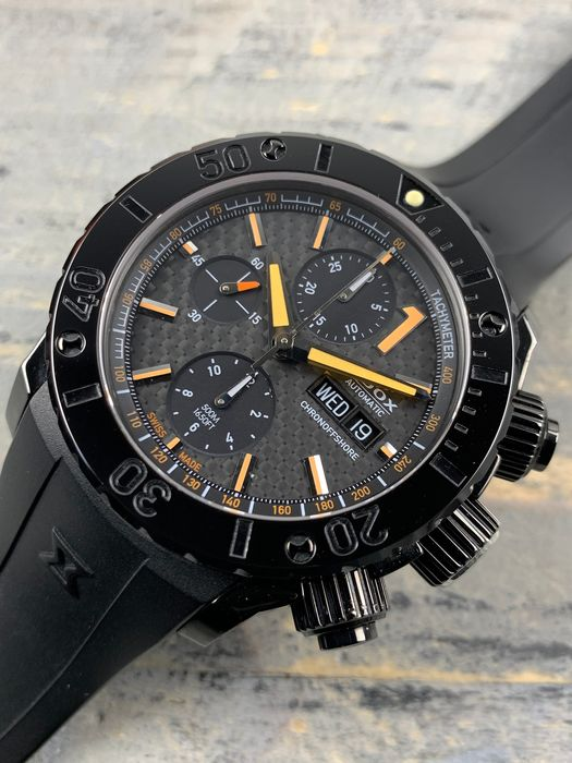 Edox - Chronoffshore Class-1 Chronograph Automatic Limited Edition - 01111 - Men - 2011-present