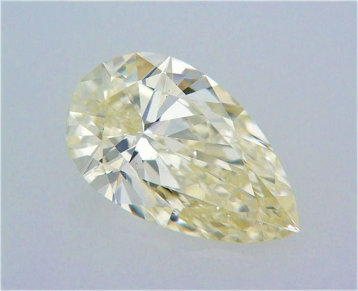 1 pcs Diamant - 0.70 ct - Poire - M - VS1