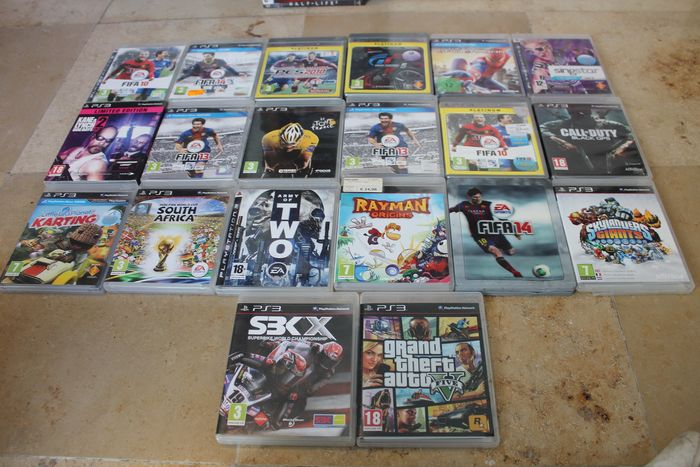 Sony - mixlot ps3 and Xbox games (44) - In original box