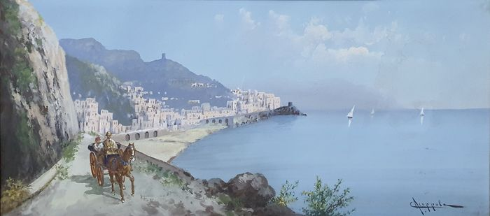 Antonio Coppola 1850-1916 - Golfo di Sorrento