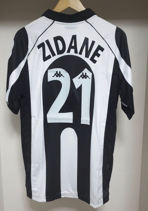 Juventus - Italian Football League - Zinedine Zidane - 1997 - Jersey