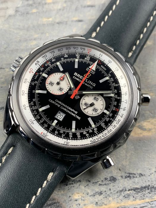 Breitling - Navitimer Chronomatic Chronograph Automatic - A41360 - Men - 2000-2010