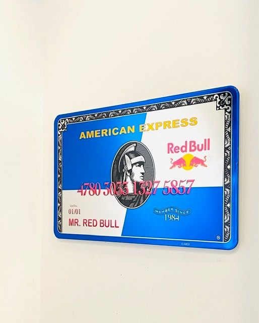 Van Apple - MR. Red Bull Amex