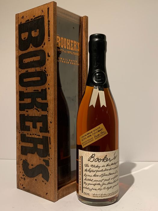 Jim Beam 6 years old Booker's Small Batch 2018-01E - 750ml