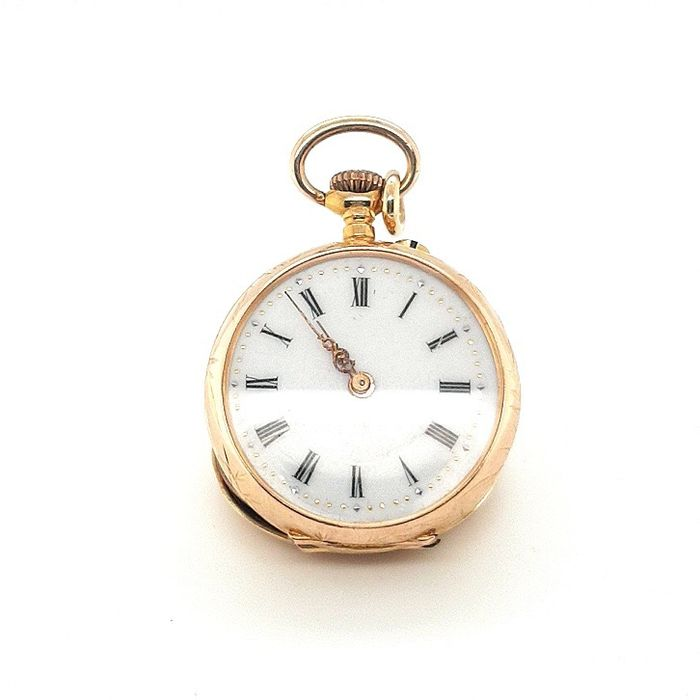 Gold pocket watch - NO RESERVE PRICE - Mujer - 1850 - 1900