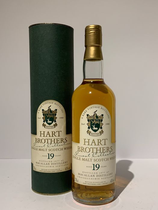 Macallan 1977 19 years old - Hart Brothers - 70cl