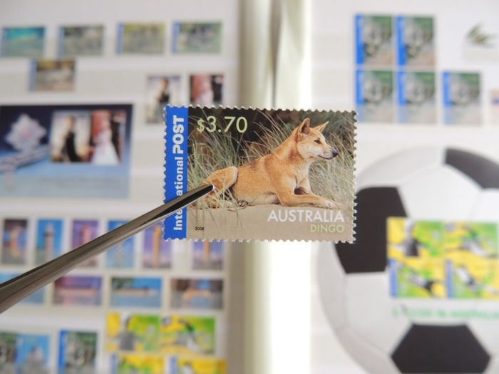 Australia 2005/2007 - Modern collection on binder pages.