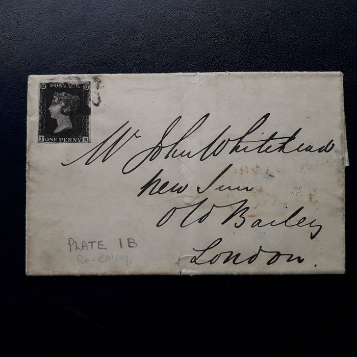 Great Britain 1840 - Stanley Gibbons 1B