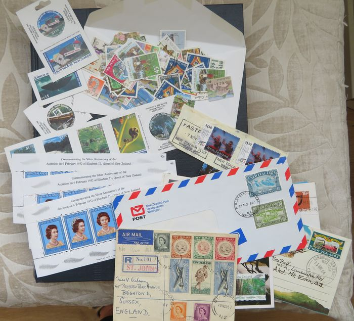 New Zealand 1873/2008 - New Zealand stamps, blocks, booklets, envelopes and cards