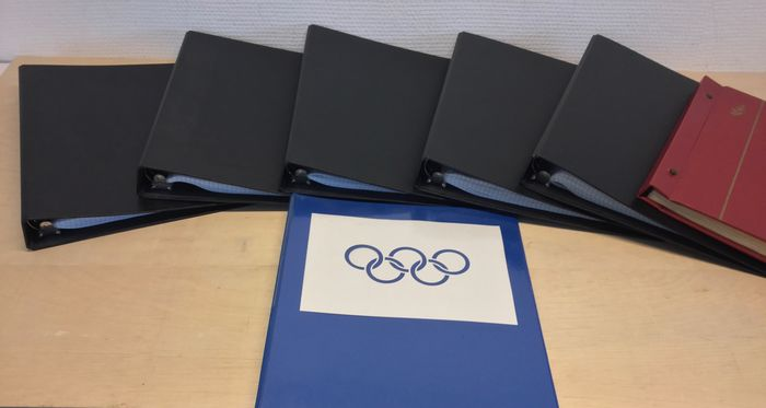 Olympic games - Sports, from various countries in seven albums, amongst others, series, blocks and mini sheets