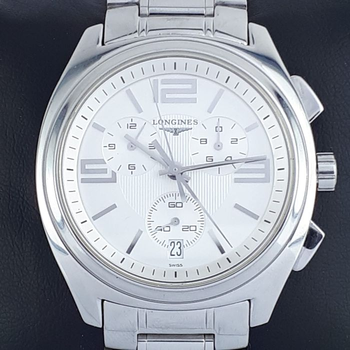 Longines - Lungomare Chronograph Date - L3.633.4 - Heren - 2011-heden