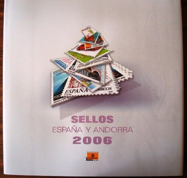 Spain and Andorra 2006 - Complete year in official Correos book