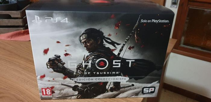 1 Sony PS4- The Ghost of Tsushima Collector's Edition - Video games