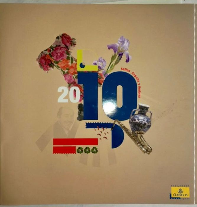 Spain and Andorra 2010 - Complete year in official Correos book