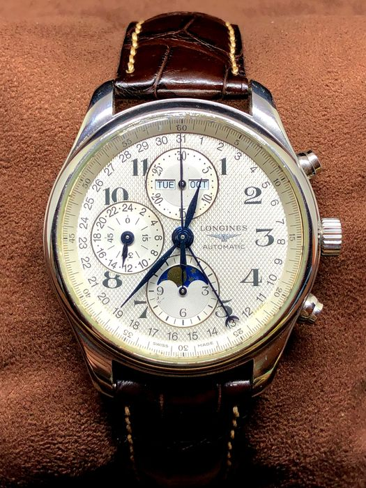 Longines - Master collection Moonphase - L27734 - Heren - 2017