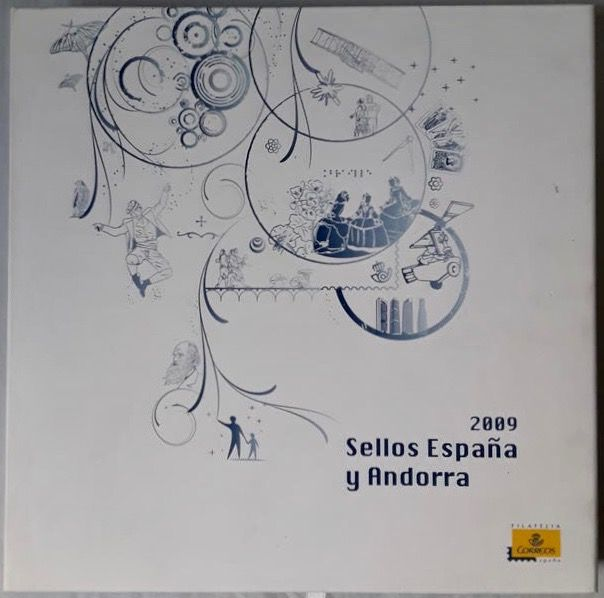 Spain and Andorra 2009 - Complete year in Correos book