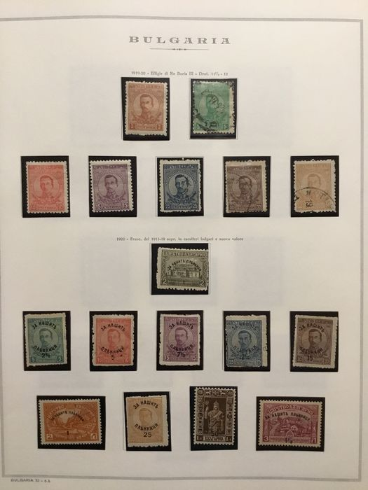 European countries 1879/1967 - Beautiful set of stamps from various European countries, both new and used.