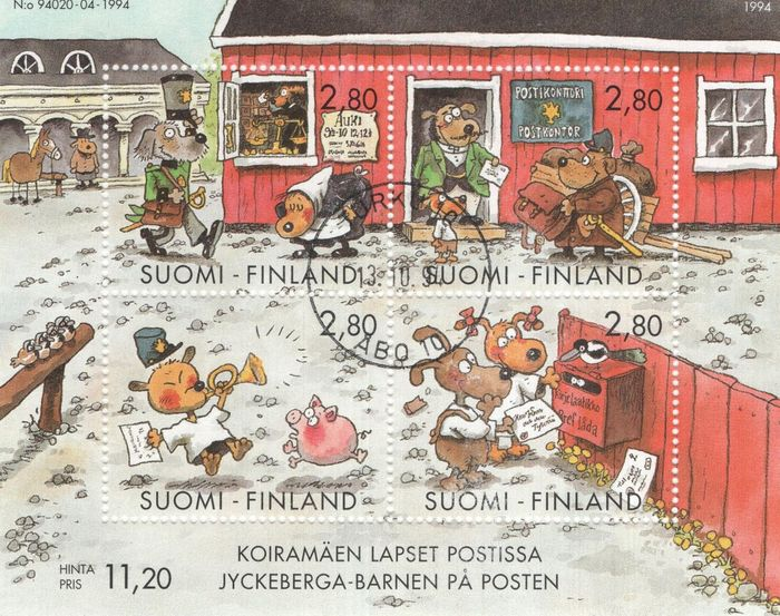 Finland 1875/2016 - Collection on pages