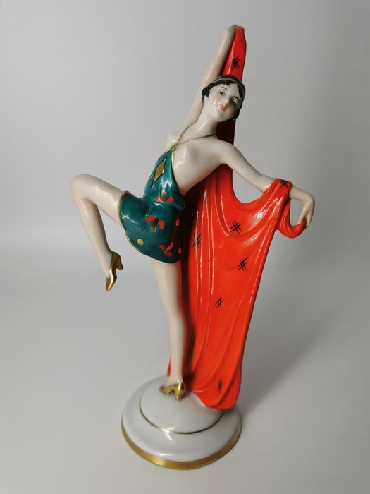 Limbach - Art Deco Dancer figurine