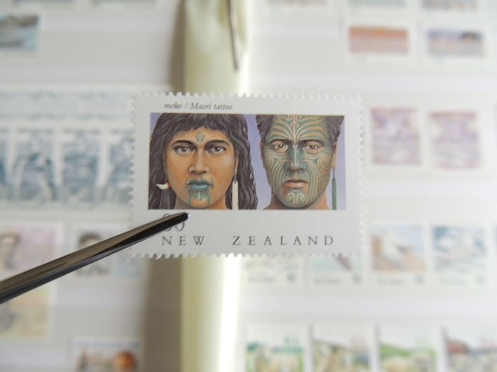 New Zealand 1975/1993 - Collection on binder pages.