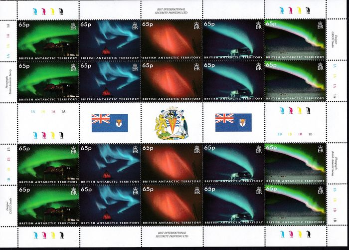 British Antarctic Territory 1972/2009 - mint never hinged collection