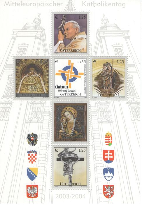 Austria & Liechtenstein 1850/2004 - Collection on pages