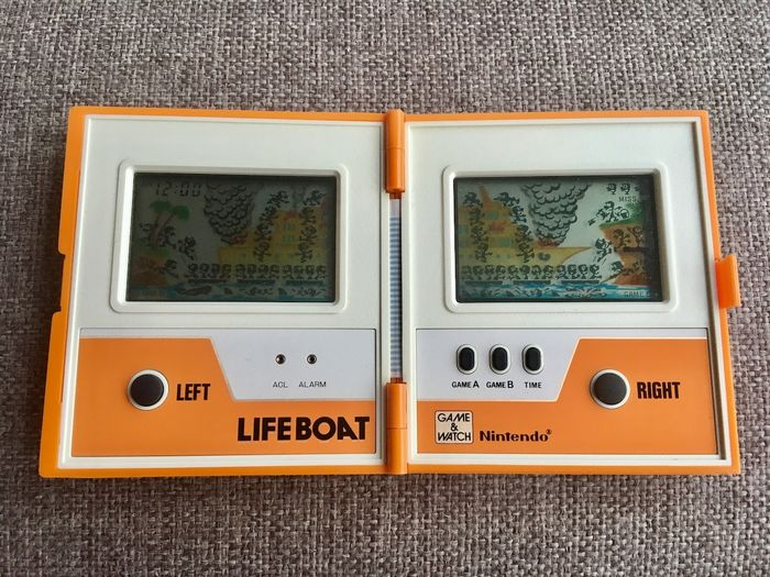 1 Nintendo Game & watch - Multi Screen - Life Boat - Video games (1)
