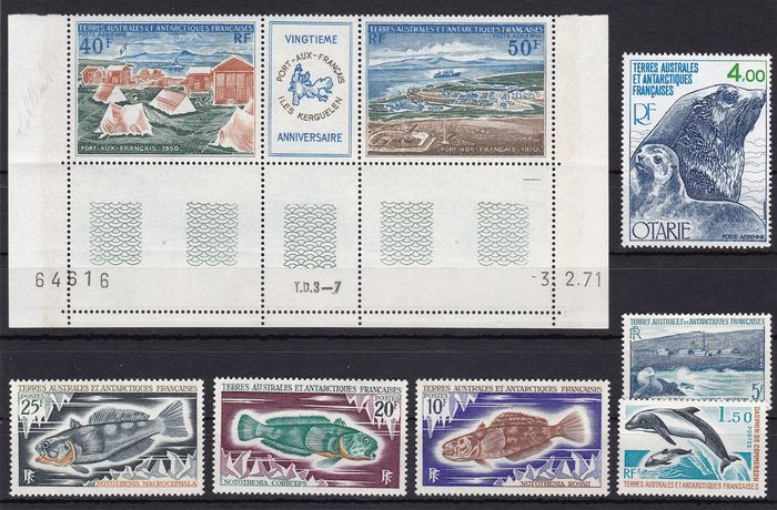 French Southern and Antarctic Lands 1956/2010 - mint never hinged collection