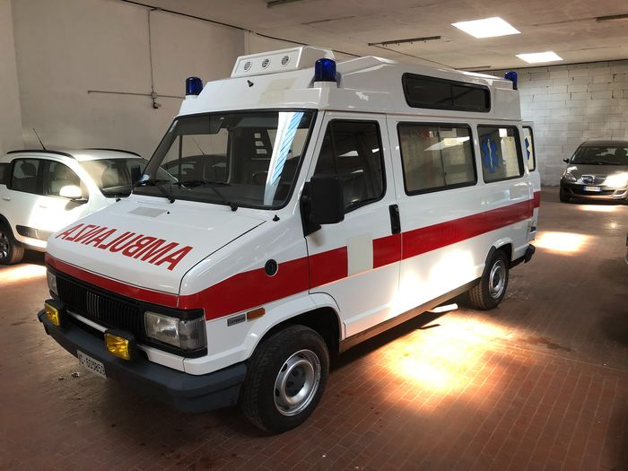 Fiat - Ducato 14 Ambulanza Combinato - 1992