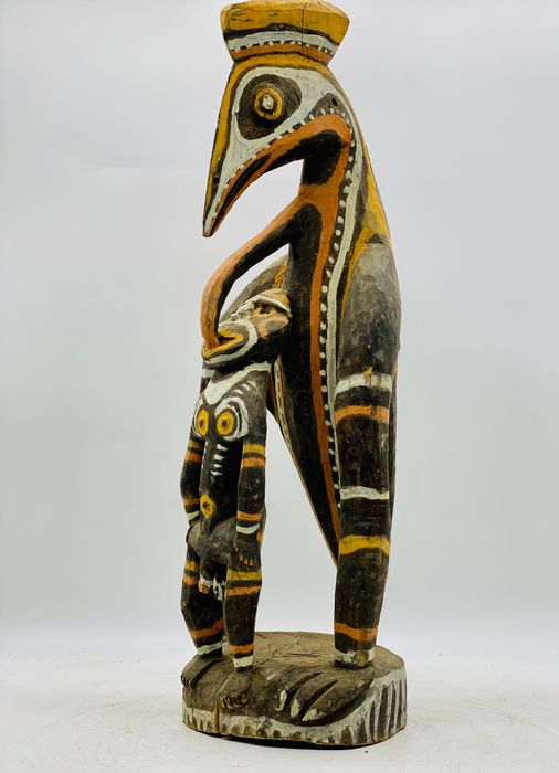 Carving - Fa, Pigmentek - Washkuk, Papua New Guinea