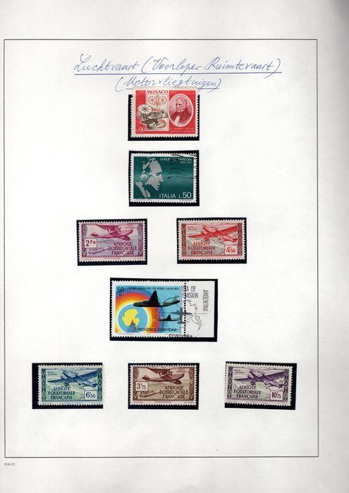 World 1914/1983 - A collection consisting of stamps, FDCs and covers with the topic Space Travel - wereld