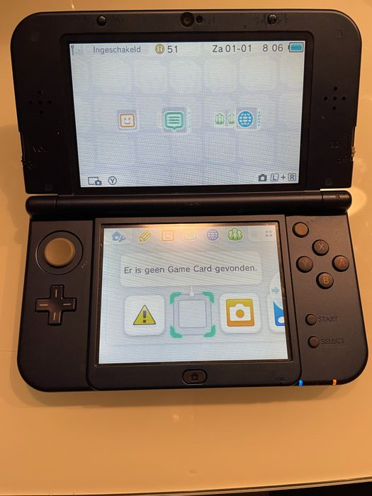 Nintendo 3DS xl - Console with games (20) - Without original box