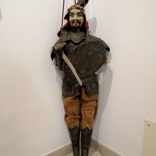 Catanese Saracen Pupo - 115 cm - Copper, Wood